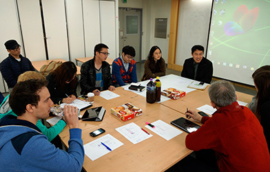 Yonsei university hs augsburg mobile experience work shop for Tisch interaction design