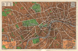 "1930 ""Pictorial Plan of London"""