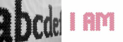 Exhibition »Floortile and Elderflower – Typographic Patterns«