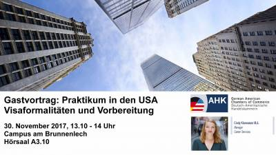 Praktikum in den USA