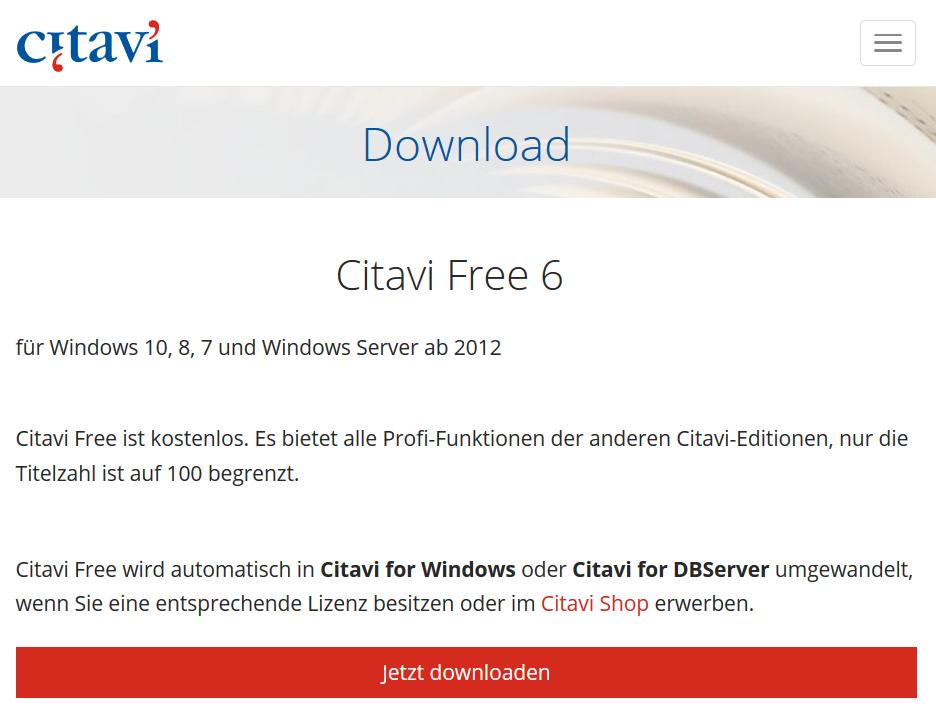 citavi mac download kostenlos