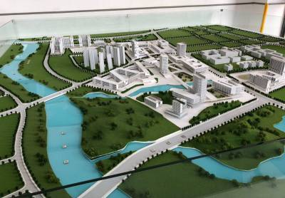Modell: Campus Shenzhen Technical University