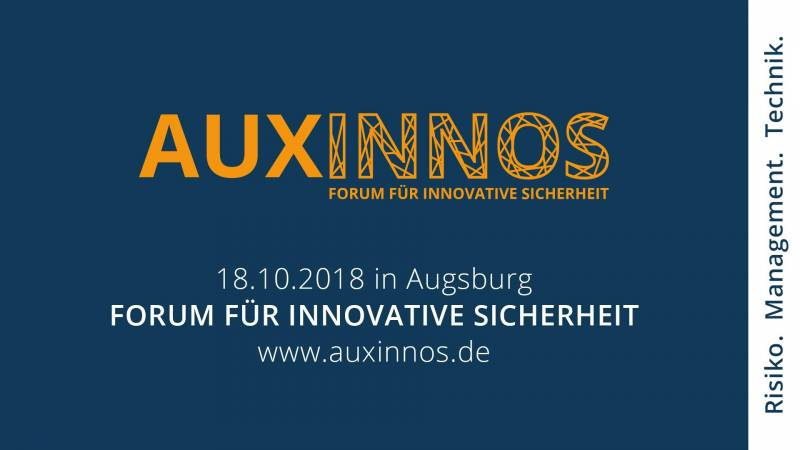 AUXINNOS Forum für innovative Sicherheit