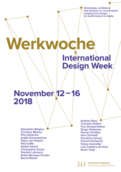 Werkwoche 2018 | International Design Week