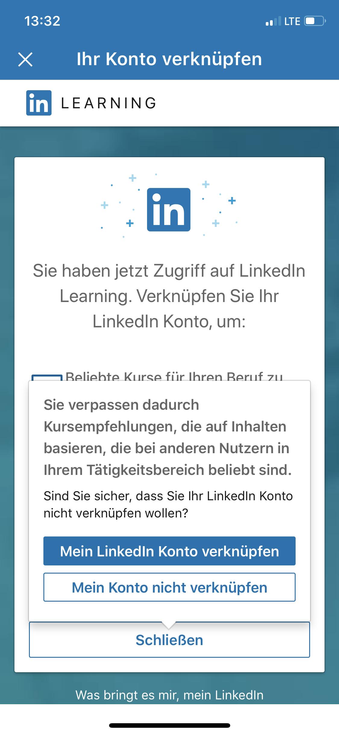 LinkedIn Learning App Login