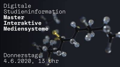 Digitale Studieninformation Master Interaktive Mediensysteme